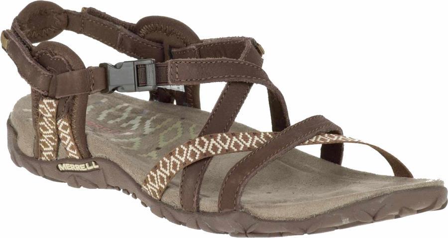Merrell Terran Lattice II Walking Sandals/Shoes UK 5 Dark Earth
